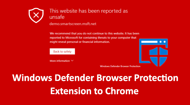 Windows Defender Browser Protection Extension
