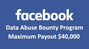 Data Abuse Bounty