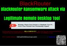 BlackRouter ransomware