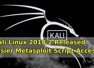 Kali Linux 2018.2