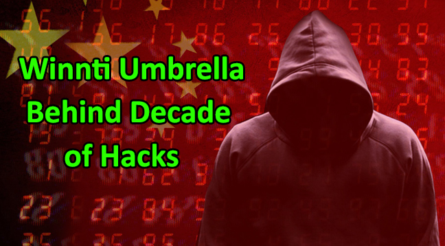 - Winnti Umbrella - Chinese Winnti Umbrella Hacker Group Linked to Decades of Hacks