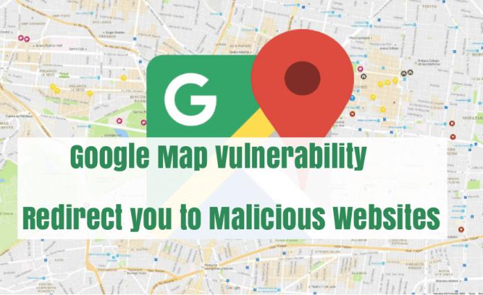 Google Map Vulnerability