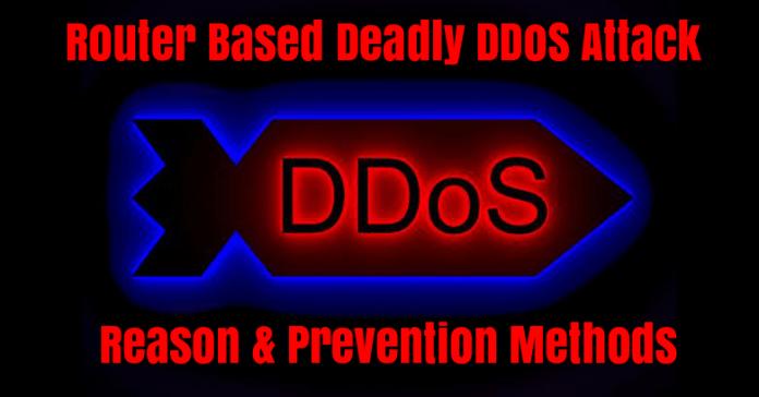 DDoS attacks  - BsTrg1529319876 - Router Based Deadly DDoS Attacks