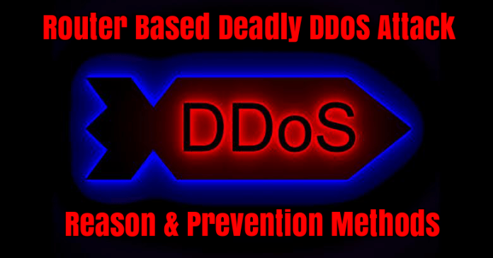 DDoS attacks  - BsTrg1529319876 - Router Based Deadly DDoS Attacks