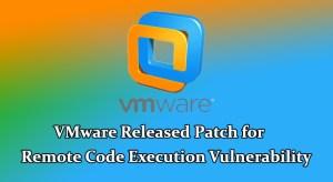 VMware security updates