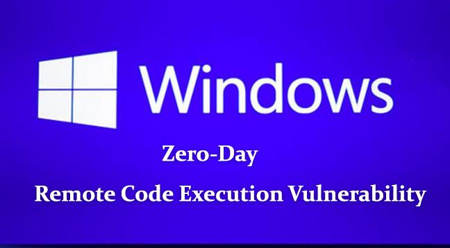 Microsoft Windows  - Zero day - Zero-Day RCE Vulnerability Discovered in Microsoft Windows J Script