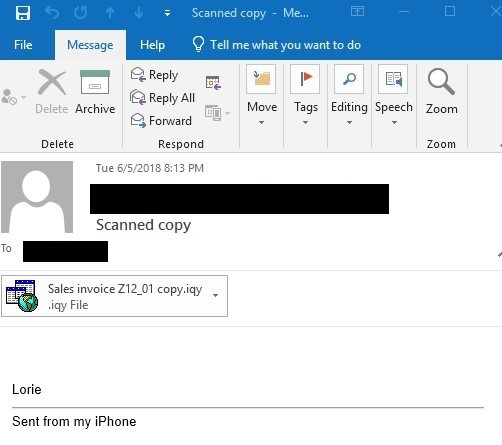 - email - Necurs Botnet Malware Create a Backdoor on Compromised Windows