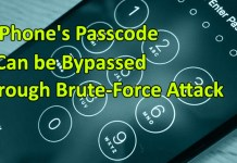 iPhone's Passcode Bypassed