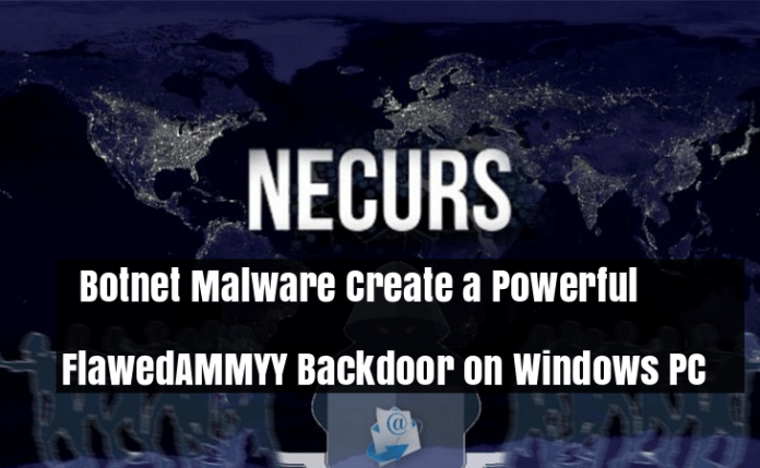 Necurs Botnet  - ilPBa1529965979 - Necurs Botnet Malware Create a Backdoor on Compromised Windows