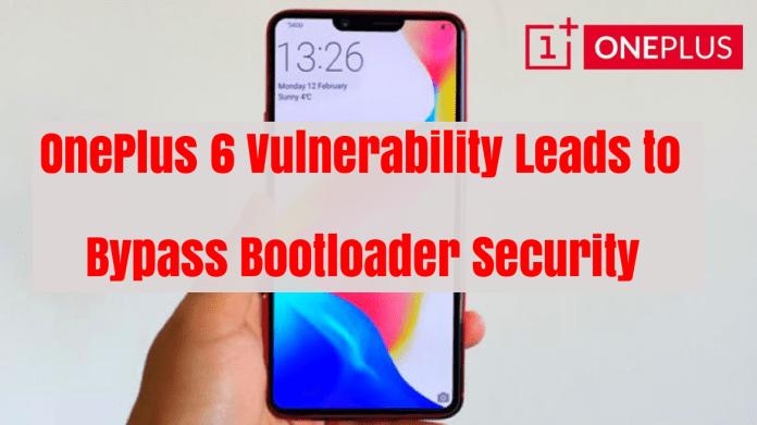 OnePlus 6 Vulnerability