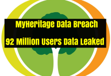 MyHeritage Data Breach