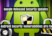 Google Released Security Updates