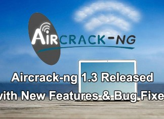 Aircrack-ng 1.3 Released