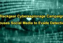 Blackgear Cyberespionage