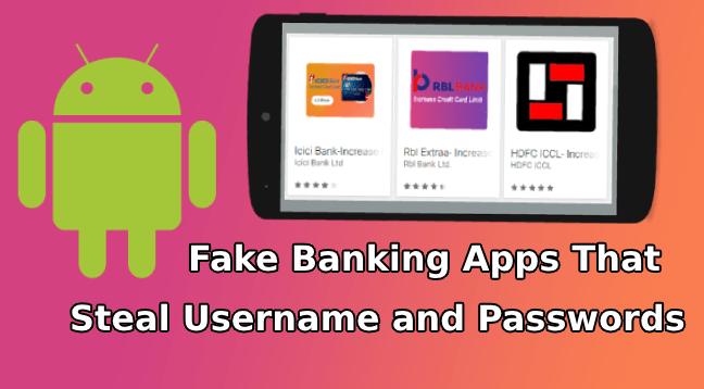 Fake Banking Apps