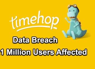 Timehop Data Breach