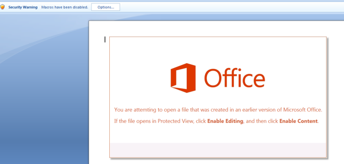 Emotet Malware  - enable editing 0 - Hackers Delivering Emotet Malware Via Microsoft Office Documents