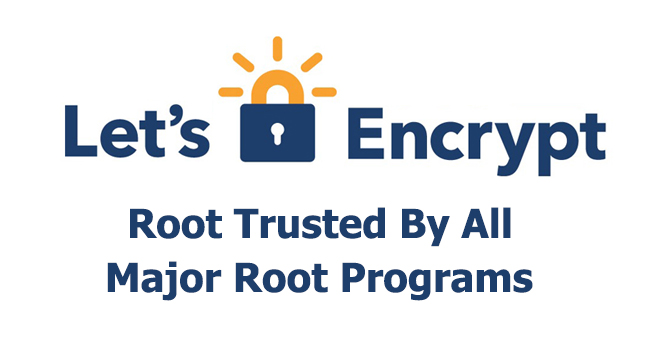 Let's Encrypt  - Lets Encrypt - Let's Encrypt Root Certificate Now Directly Trusted by Microsoft