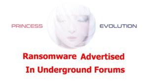 Princess Evolution Ransomware Archives | ThreatRavens
