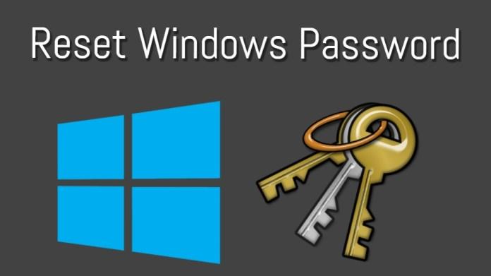 Reset Windows password  - Reset Windows iSeepassword - How to Reset Admin and Login Windows Password for 10 / 8 / 7