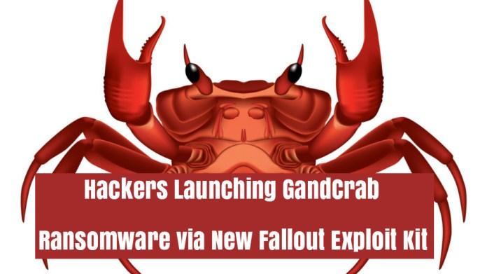Exploit Kit  - AecFF1536271400 - Hackers Launching GandCrab Ransomware via New Fallout Exploit Kit