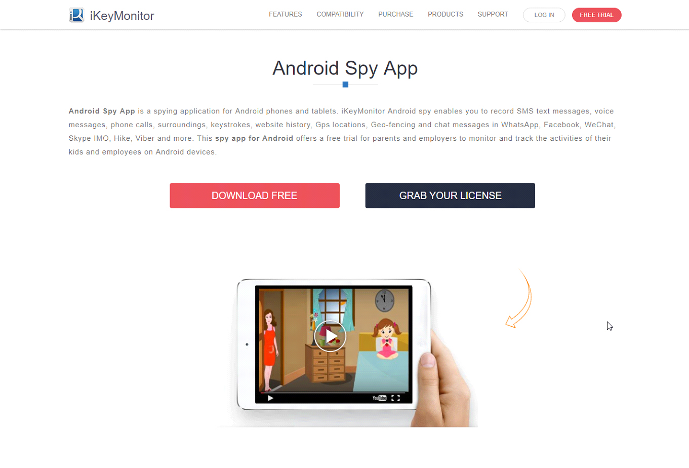 spy web activity android