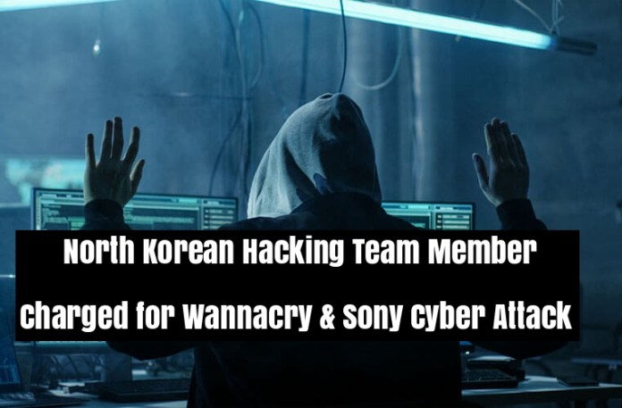 - HWBJw1536400531 - North Korean Hacking Team Member Charged for Wannacry and Sony Cyber Attack