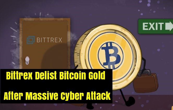 Bitcoin Gold delisted.
