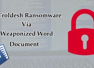 Troldesh Ransomware