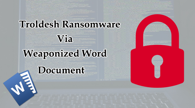 new concept 98e90 7fdea Troldesh Ransomware