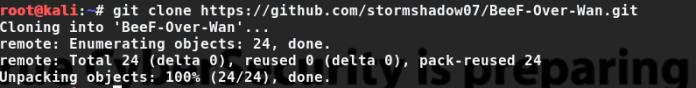 - 1 - Browser Exploitation Framework Over Wan (Without Port Forwarding)