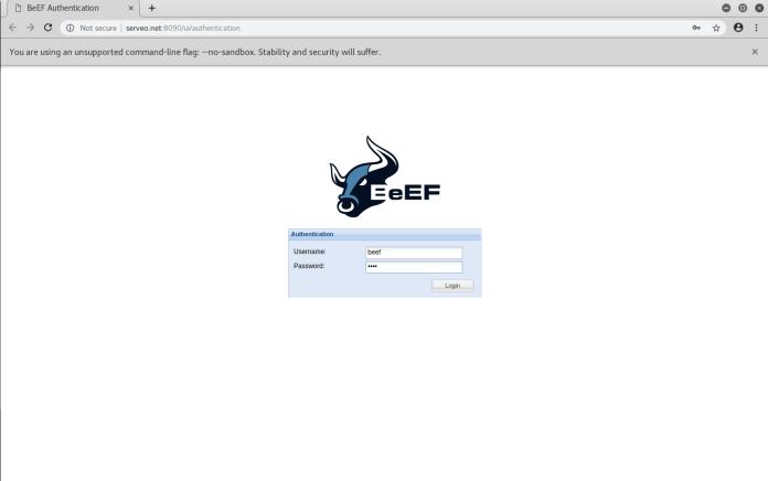 - 5 - Browser Exploitation Framework Over Wan (Without Port Forwarding)