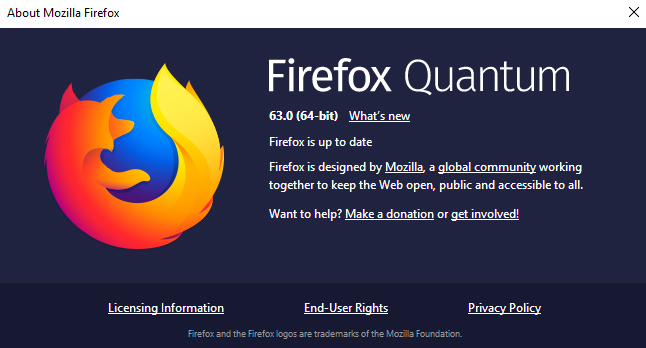 Firefox 63