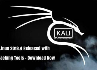 Kali Linux 2018.4