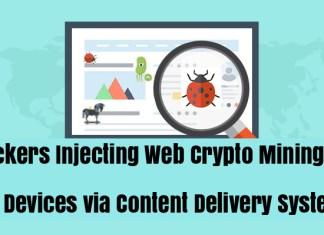 Web Crypto Mining