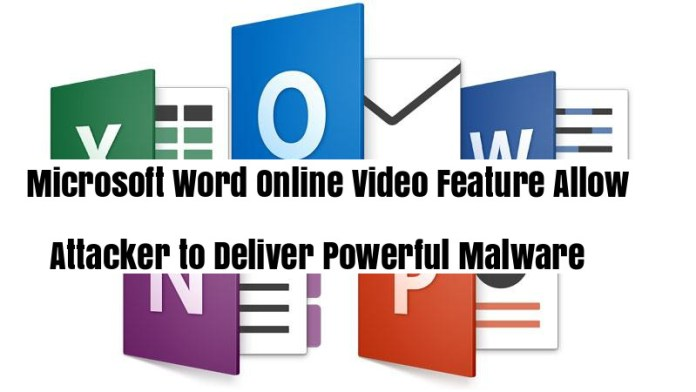 Microsoft word  - a94LD1540608521 - Microoft Word Online Video Feature Allow Attacker to Deliver Malware