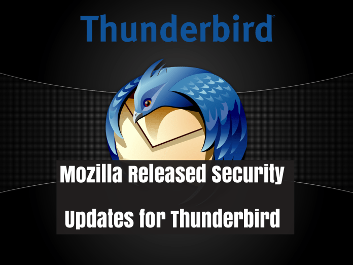 Mozilla Releases Security Update  - cnPrH1533711431 - Mozilla Releases Security Update For Thunderbird
