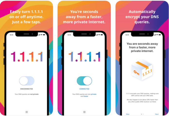 Image result for Cloudflare's 1.1.1.1 DNS Service Gets Standalone Mobile Apps for Android, iOS