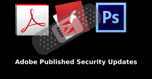 Adobe published security updates