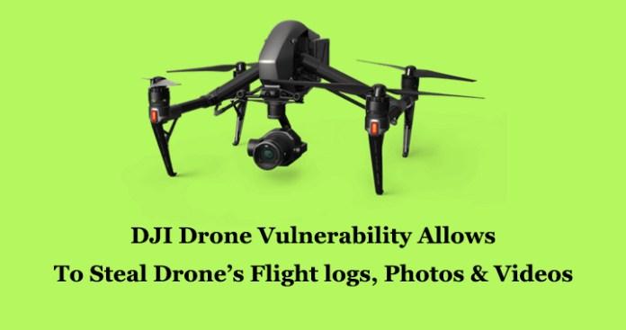 DJI Drone Vulnerability