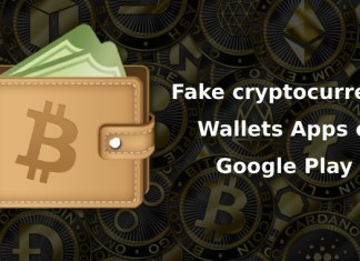 Fake cryptocurrency Wallets