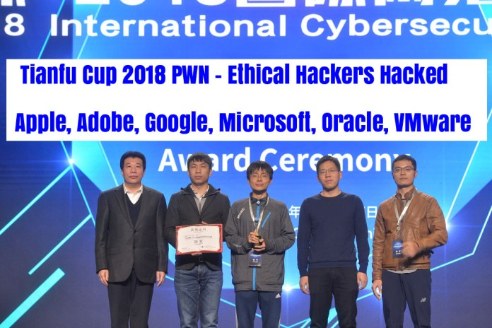 - LEjOn1542672726 - Tianfu Cup 2018 PWN – Hackers Hacked Apple, Adobe, Google, Microsoft