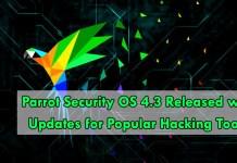 Parrot Security OS 4.3