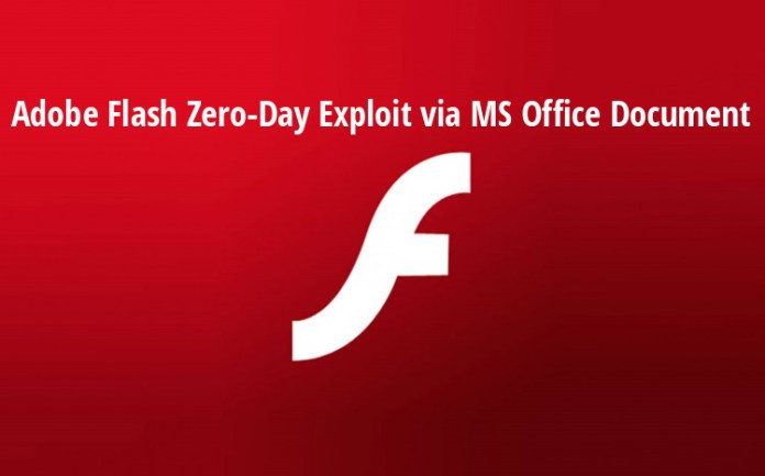 0day  - 0day - Hackers Exploiting Adobe Flash 0day via a Microsoft Office Document