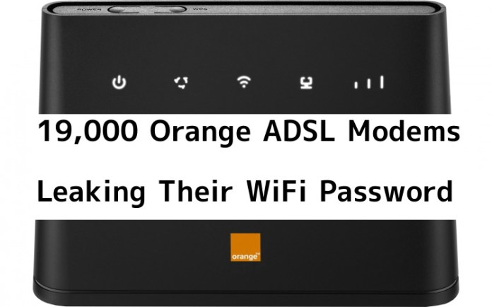 ADSL modems  - 7gwkQ1545710572 - 19,000 Orange ADSL Modems Leaking Their WiFi Password