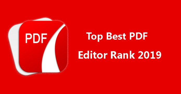 PDF Editor  - PDF editor - Top Best PDF Editor Rank 2019