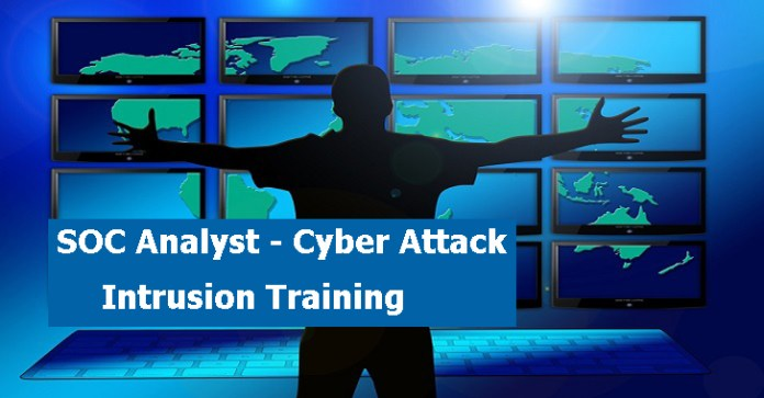 SOC Training  - SOC Training - SOC Training – Cyber Attack Intrusion Training From Scratch