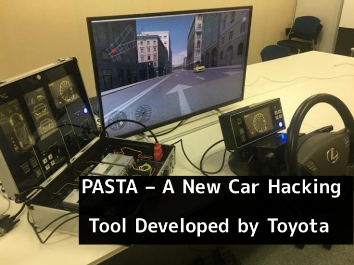 Car Hacking Tool  - hhni41544162950 - A New Car Hacking Tool Developed by Toyota