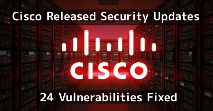 Cisco security updates  - 4D8XZ1548365374 - Cisco Released Security Updates & Fixed 24 Vulnerabilities