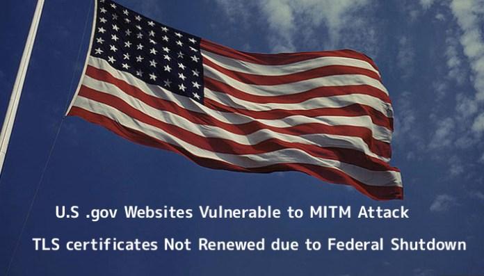 - 77LS91547508208 - U.S .gov Websites Vulnerable to MITM
